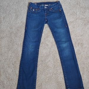 True Religion billy low rise jeans